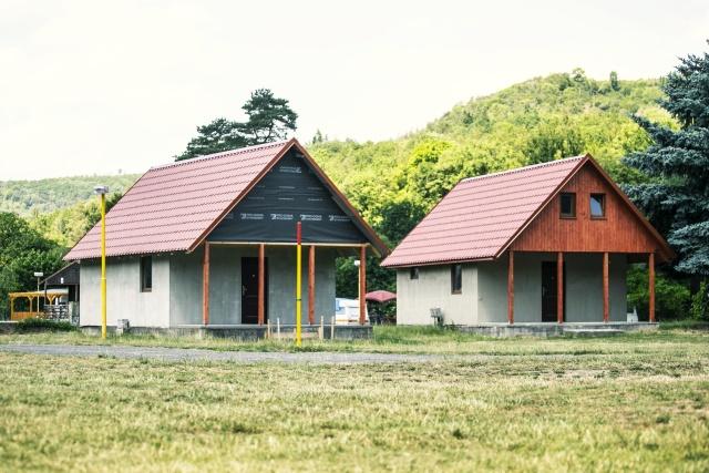 Chata s vlastním sociálním zařízením