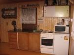 kuchyňka v chatě se SZ